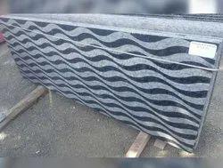 Polished Big Slab Designer Black Granite Slabs, For Flooring, Thickness: 15-20 mm
