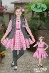 Party Wear Frocks & Dresses Girls Frock, Size: 26.0, Age Group: 3 To 7