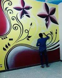 Enamel Paint Wall Painting Advertising