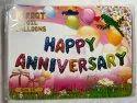 Happy Anniversary Foil Balloons