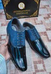 Men Formal Black Shining Shoes Size 7/10, For Office Wear, Model Name/number: Ada