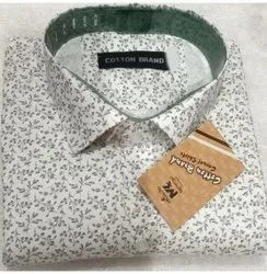 Party Wear Mens Fancy Printed Shirt