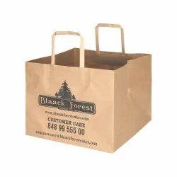 棕色1公斤蛋糕纸袋,供面包房使用