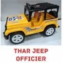Yellow And Black Thar Jeep Officer, For Kids