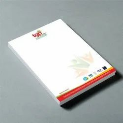 White Paper Letterhead Offset Printing Service, Size: A4, Local Area