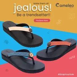 Cameleo Black EVA Ladies Slippers
