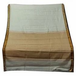 Casual Wear Tye and Dye Handloom Cotton Plain Sarees, With Blouse, 5.5 m
