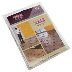 Plastic White Berger Express Painting Floor Cover