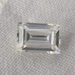 Colorless Baguette Cut Loose Moissanite For Jewelry