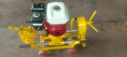 Rail Drilling Machine With HONDA  GX160  ( Petrol Engine )