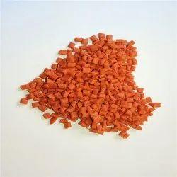 Orange Nylon Granules