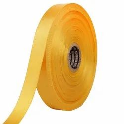 Double Satin NR - Honey Yellow Ribbons25mm/1Inch 20mtr Length