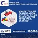 Bis Certification Consultancy for Toys IS 9873