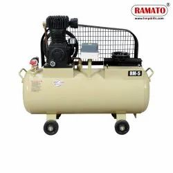 RMT-5 1 HP 2 Cylinder Single Stage Air Compressor