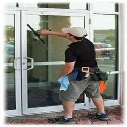 Facade/Glass Glass Door Cleaning Services