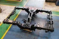 金属CNC加工工作,在印度,法兰
