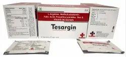 L-Arginine 3gm Methylcobalamin 500mcg Folic Acid 400 MCG Proanthocyanidins 75 Mg, Tesargin