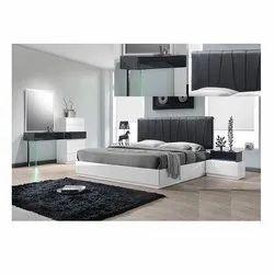 Raviraj Interior Engineered Wood Stylish Modular Bedroom Furniture