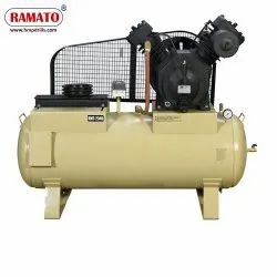 RMT-21T2 12.5 HP 2 Piston Two Stage Air Compressor With 375 Ltr Tank