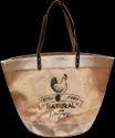15 inch Jute Grocery Bag