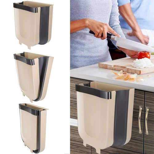 Tallin Hanging Trash Can For Kitchen, Hanging Trash Can For Kitchen Cabinet Door