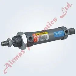 Pneumatic Cylinder As Per ISO 6432 Standard Profile Round Type