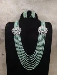 Traditional Bandhai Bridal Necklace