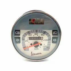 Vespa Speedometer For LML & PX MY Type - Cream Face - 120KMH- 80MP