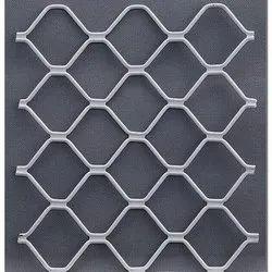 Galvanized Aluminium Interior Window Grill