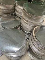 6 Inch Silver Coated Paper Circle