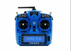Carbon Fiber Frsky X9DP2019 remote control Blue