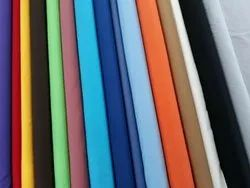 Plain Cotton And Polyester  Fabric