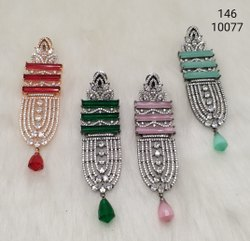 Fashion American Diamond Jewelry Earrings