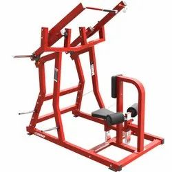 Front lat pulldown machine