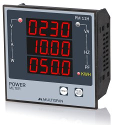 Multispan Single Energy Meters, Model Name/Number: PM-11H, 20.0 - 300.0 V