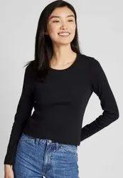 Full Sleeve Ladies Inner Black Color