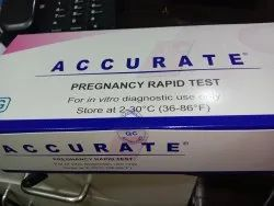 accurate pregnancy rapid test kit