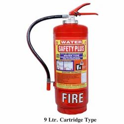 Safety Plus Mild Steel 9L Cartridge Water CO2 Fire Extinguisher