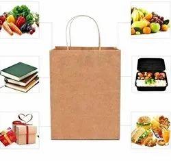 Brown Vegetable Craft Paper Bag, Capacity: 2kg