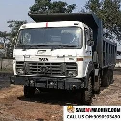 Tipper Used TATA 12 WHEELER HYVA FOR SALE, Model Name/Number: 3118 9 Speed Hd