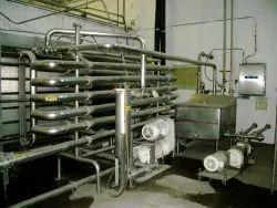 Automatic Ss Alfa Laval Juice Pasteurizer, 1000 Liter Per Hour
