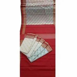 001 Polyester Cotton Sarees