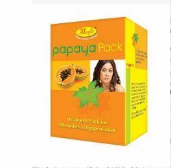 Magic Papaya Face Pack, Box, Packaging Size: 60 G