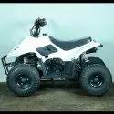 White 80cc Junior ATV