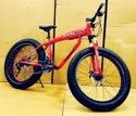 Audi Shark Red Fat Tyre Cycle