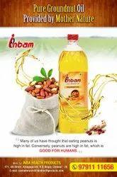 Cold Pressed Groundnut Oil, 1 kg