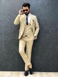 Party Cream Men Business Suit
