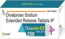 Divalproex 250 mg Tablets (Divasite-ER 250)