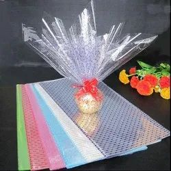 Colored Cellophane Sheet, For Packaging, GSM: 80 - 120