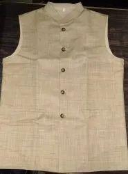 Khadi Silk Nehru Jackets6, Size: 38-44